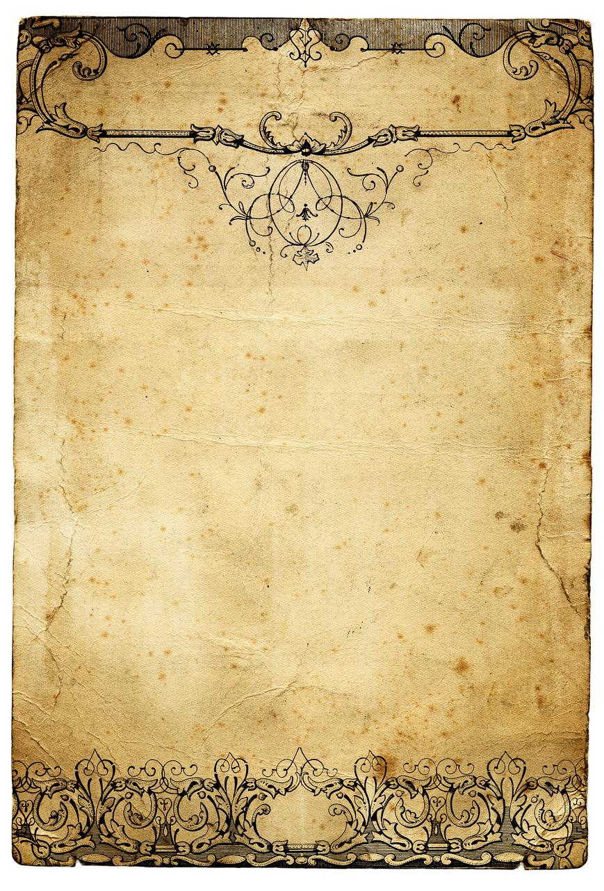 30 Old Paper Textures - t 37