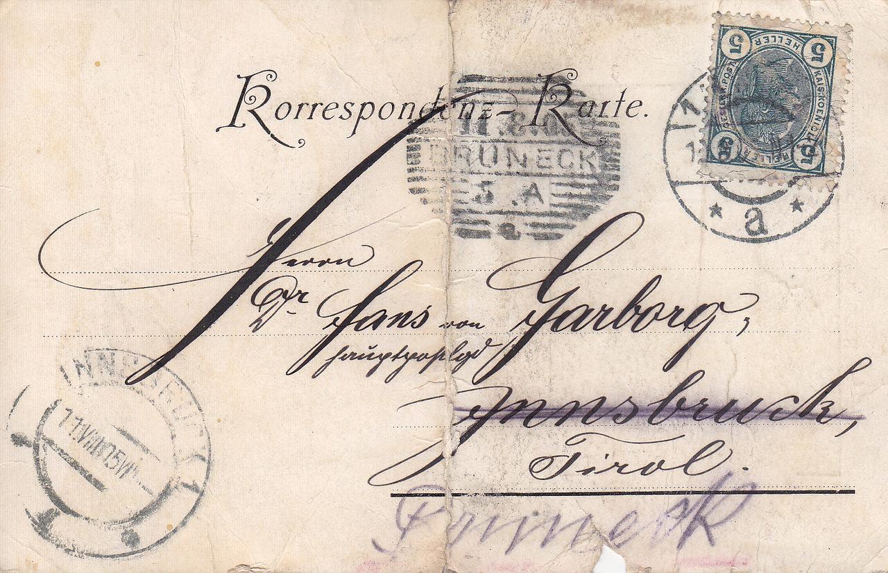 Черно белые почтовые открытки
